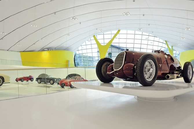 MEF 11copyright Studio cento29 Enzo Ferrari Museum by Shiro Studio on thisispaper.com